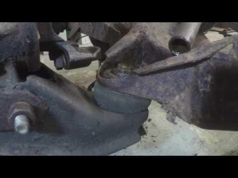 rear diff removal