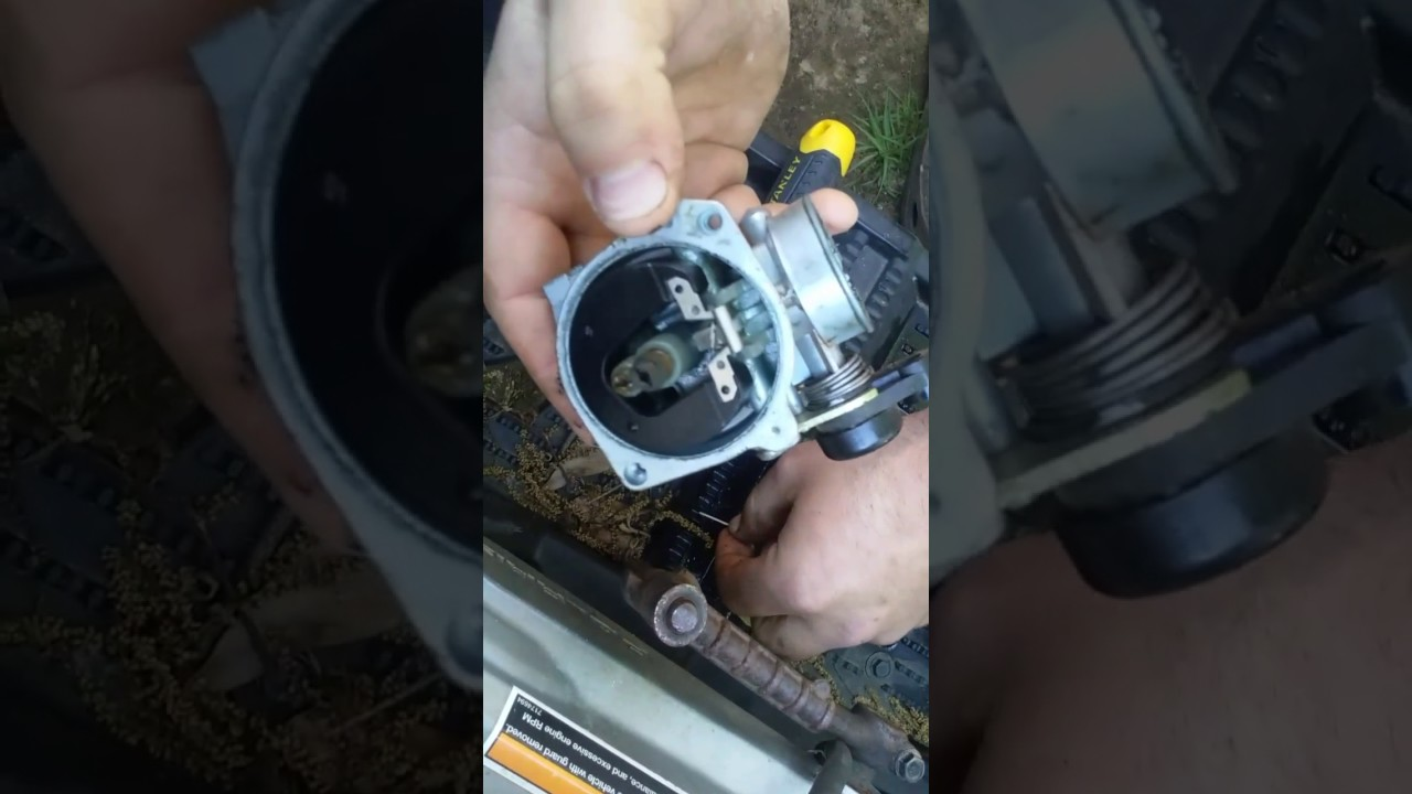 How to clean a carb on a Polaris outlaw 90