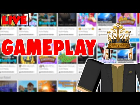 Roblox Gameplay: PLAYING GAMES WITH VIEWERS