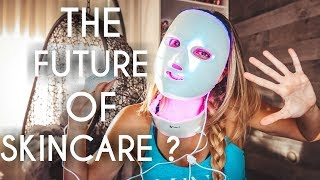 Light Therapy for Wrinkles, Acne , Dark Spots, Anti aging | LED Face Mask Review