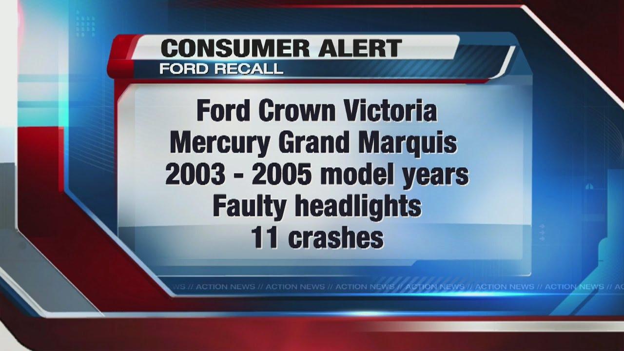 medium resolution of ford recalls older large cars to fix headlight problem