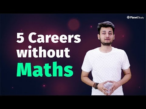 Maths not required for these 5 careers | Courses after 12th | Students must watch