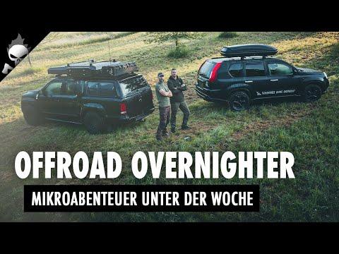 OFFROAD OVERNIGHTER – Mikroabenteuer unter der Woche & Taufe des neuen Grundstücks