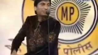 Raju Performing in Jalwa Live Show - Mumbai Police New Year Program