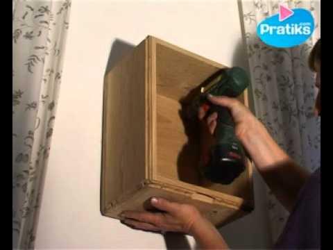 comment faire un caisson en bois 3 me partie fixation youtube. Black Bedroom Furniture Sets. Home Design Ideas