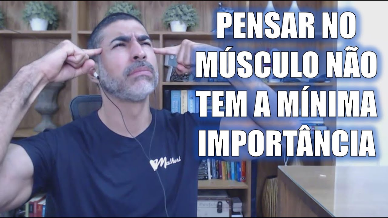 Pensar no músculo pode atrapalhar seus treinos!