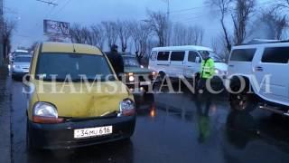 Շղթայական ավտովթար Երևանում  ԱՄՆ դեսպանատան մոտ Hummer ի վարորդը՝ մեքենաների ջարդի հեղինակ