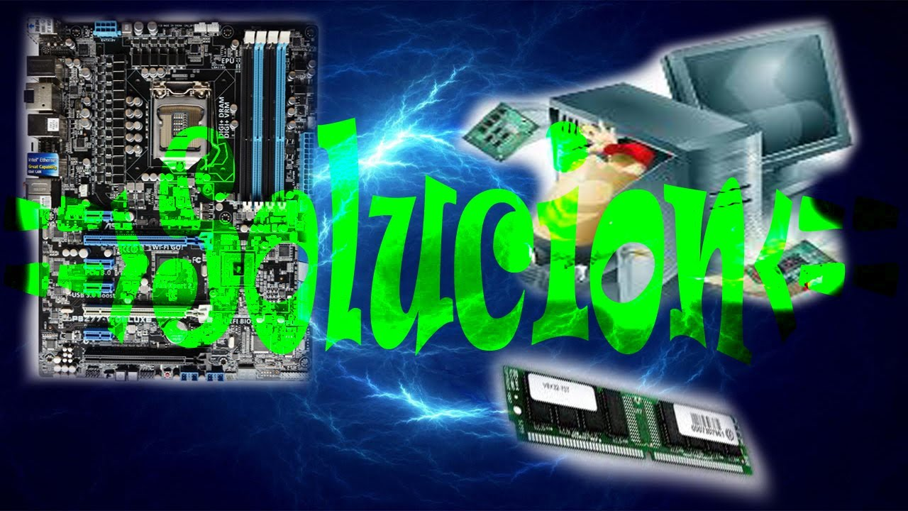Tu pc enciende pero no da video  REPARACION    YouTube