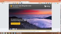 How To Download and Install Bing Toolbar on Internet Explorer