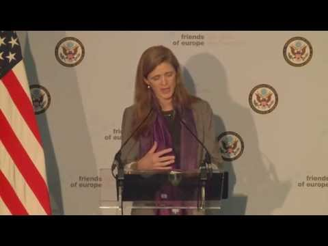 Conversation with Samantha Power