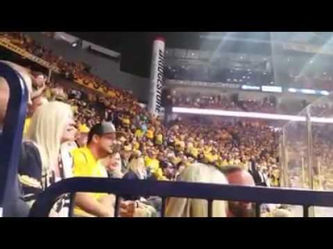 nashville predators 6-3 Anaheim ducks, (NHLPLAYOFF)