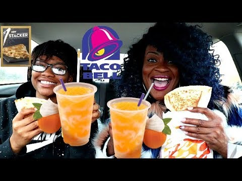 TACO BELL NEW MENU ITEMS! ( REQUESTED VIDEO)