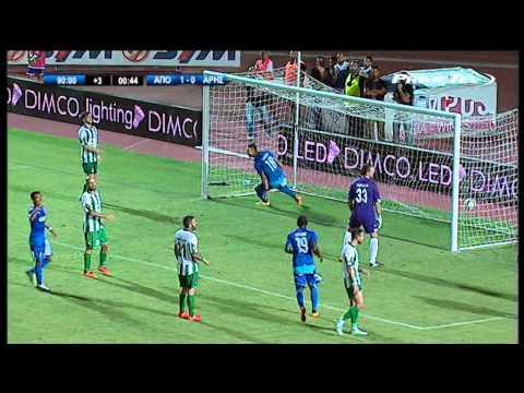 Apollon Limassol FC 2-1 Aris Limassol