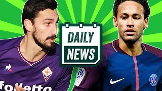 TRANSFERS: Everton want Wenger, Brazil and PSG beef over Neymar and Davide Astori death ► Daily News