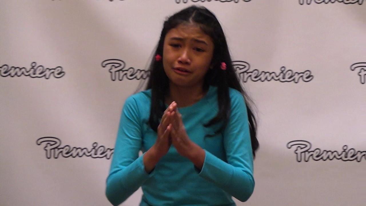 Christabelle Marbun Dramatic Monologue Top Performer