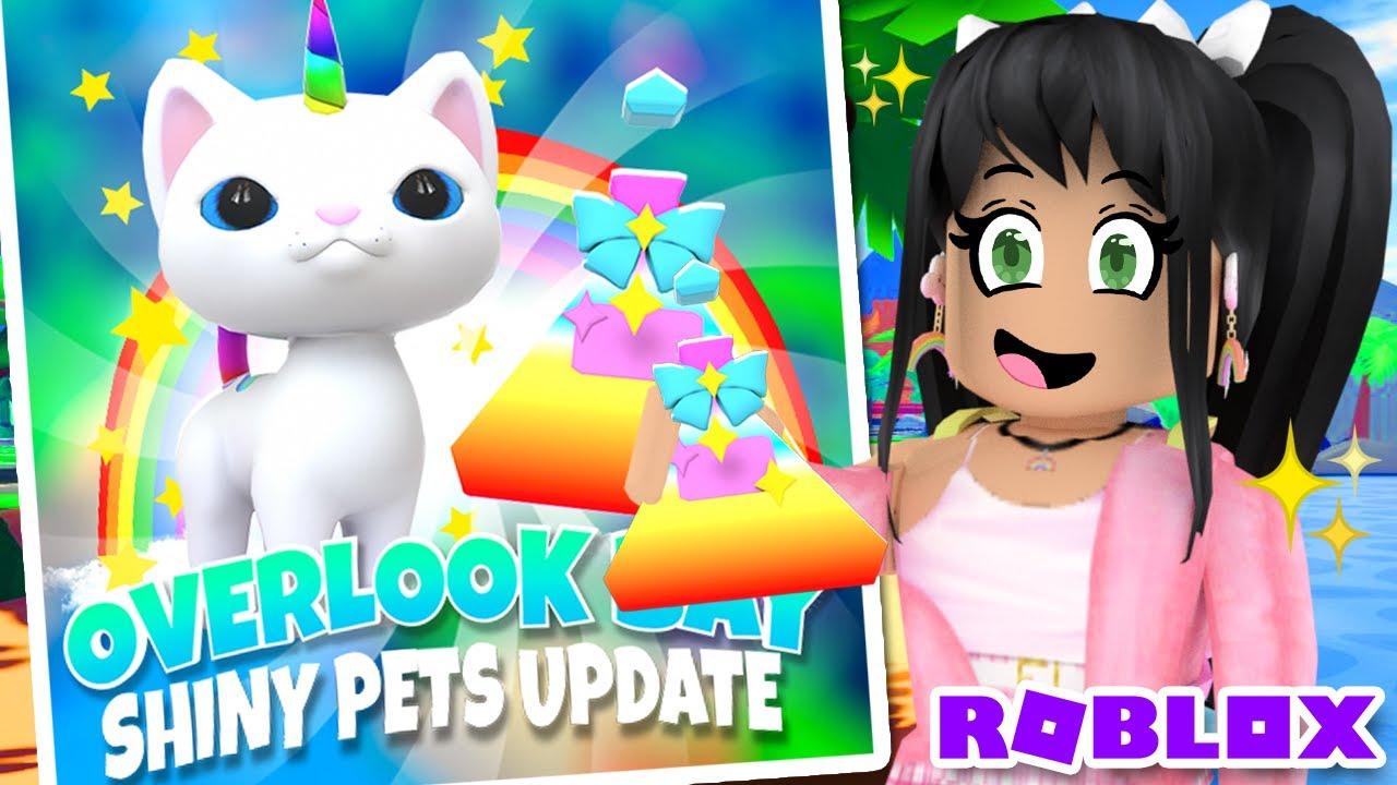 New Shiny Pets Update Overlook Bay Roblox News Tea Youtube