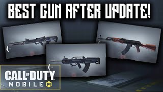 *NEW* BEST GUN AFTER UPDATE in Call Of Duty: Mobile! (insanely overpowered)