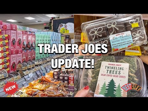 Quick Trader Joes Update! New Items + Holiday Foods, Gifts & Treats available.. Come shop with me!