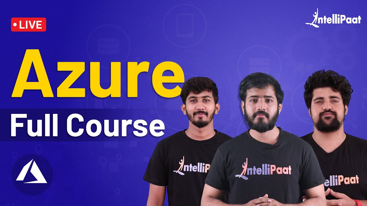 Azure Tutorial   Azure Tutorial For Beginners   Learn Azure   Intellipaat