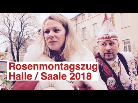 Karneval 2018: Rosenmontagsumzug Halle