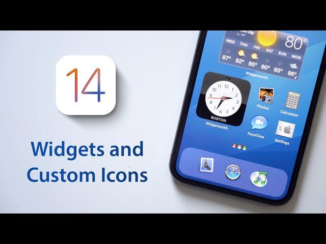 iOS 14 Home Screen Setup: Widgets and Custom App Icons