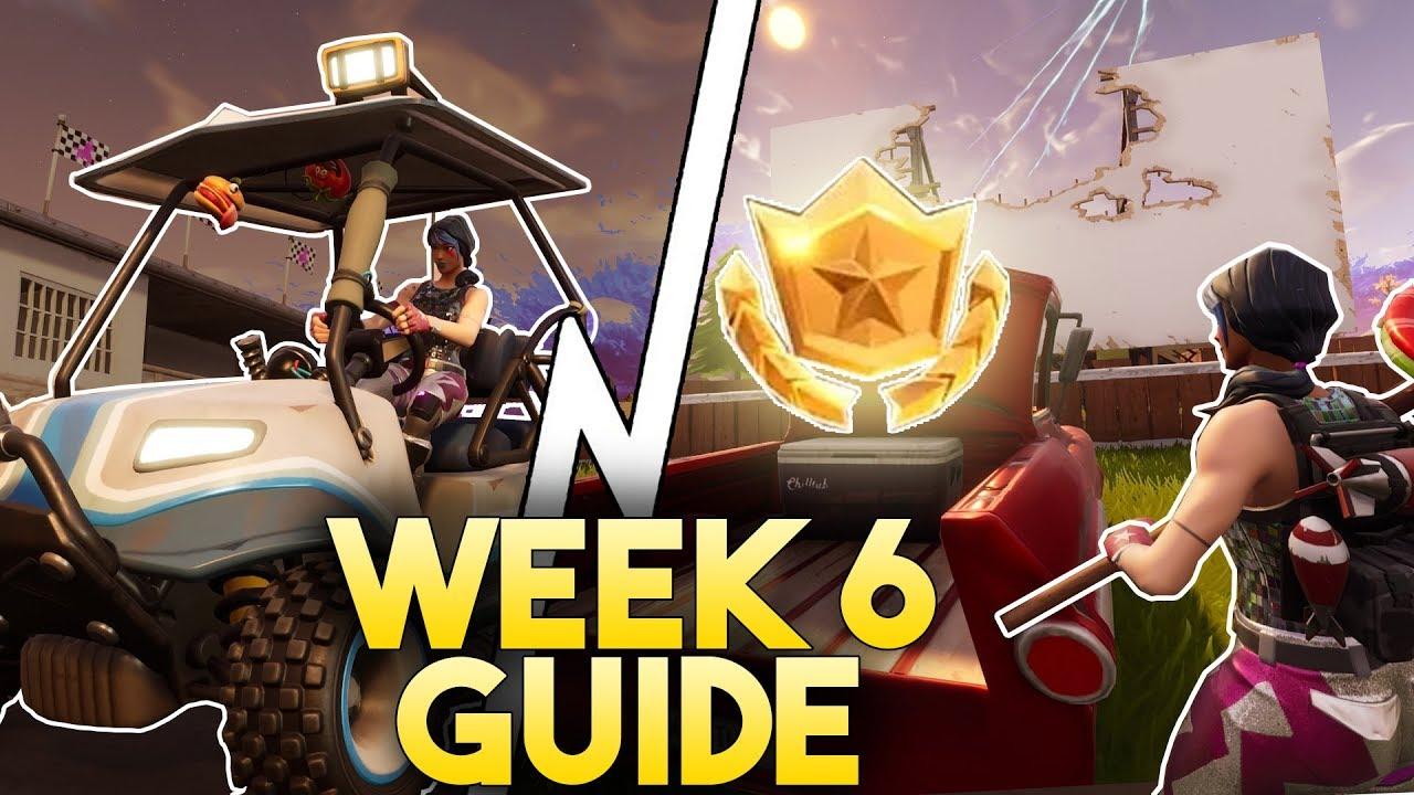 Fortnite Season 5 Week 6 Challenge Guide Timed Trials Challenge