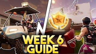 Fortnite SEASON 5 WEEK 6  CHALLENGE GUIDE! | Timed Trials Challenge Guide! | Loading Screen Location