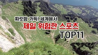 [내맘대로 랭킹] 제일 위험한 스포츠 TOP 11! 이렇게많이 죽는다고..?