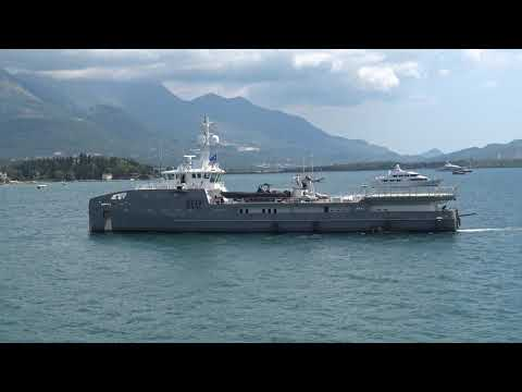 Support Vessel 6711 (video #1)