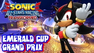 Sonic & All Stars Racing Transformed Wii U - Grand Prix - Emerald Cup