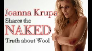 Naked Joanna Krupa Reveals Truth About Wool