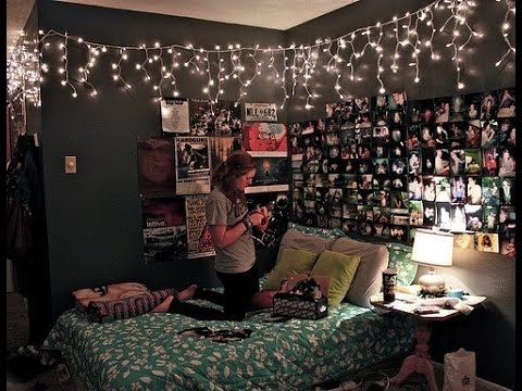 String Lights In Bedroom - String Lights Ideas For Room Decor ...