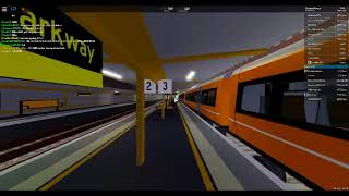 Roblox, Stepford County Railway, Boarding An Airlink Train At Stepford airport parkway