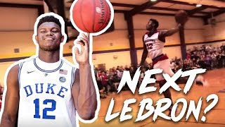 The Next LeBron?! Zion Williamson 2018-19 Duke Hype Mixtape