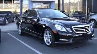 Mercedes Benz 2013 E350 DA701895P