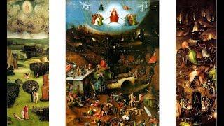 ufo na obrazach ,malowidłach -Hieronim Bosch co działo się w średniowieczu,