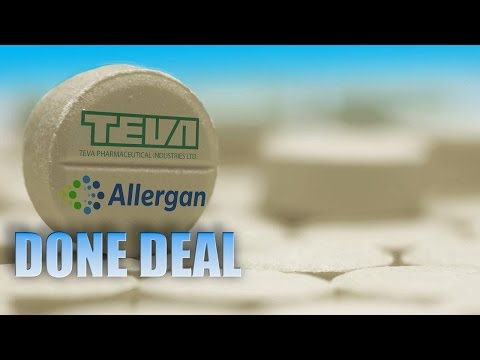 Teva Springs for $40.5B Allergan Generics Acquisition Instead of Mylan Bid