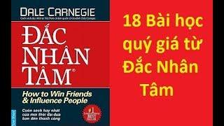 18 BÀI HỌC rút ra từ ĐẮC NHÂN TÂM - Dan Carnegie   Sách tinh gọn