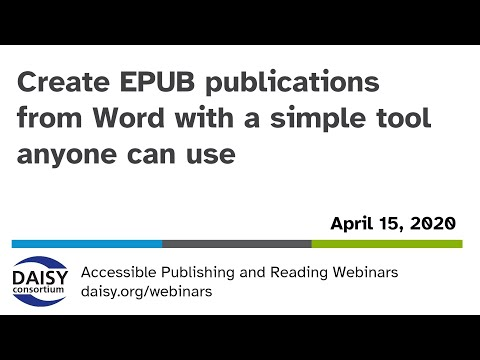 Create EPUB Publications From Word With A Simple Tool Anyone Can Use