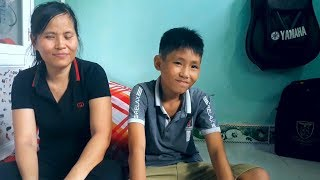 Bất ngờ với ước mơ của cậu con trai hai vợ chồng mù bán chổi ở Bình Dương- PhuTha vlog