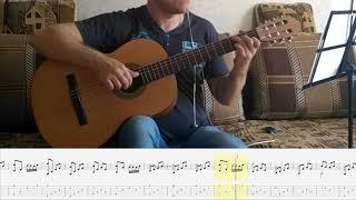 Серенада Трубадура На Гитаре / Луч Солнца Золотого На Классической Гитаре