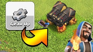 SECRETS TO THE GEAR UP UPGRADE! | Trolled by Master Builder | Clash of Clans