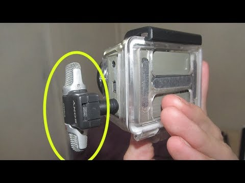 Better Gopro Audio For 7 On Hd Hero 2 Or 3 With The Ecm