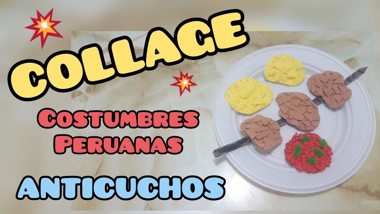 COLLAGE Costumbres Peruanas
