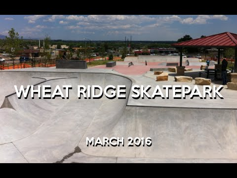 Wheat Ridge Skatepark | March 2016