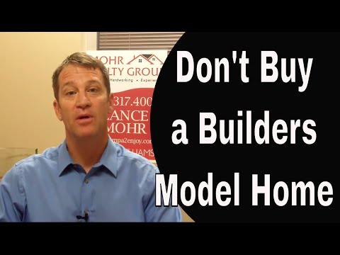 3 Top Reasons NOT To Buy a Model Home From a Home Builder