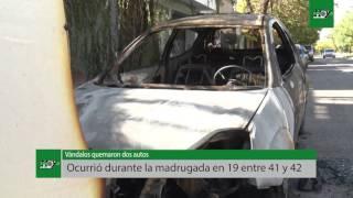 Nuevos casos de quemacoches en Barrio La Loma