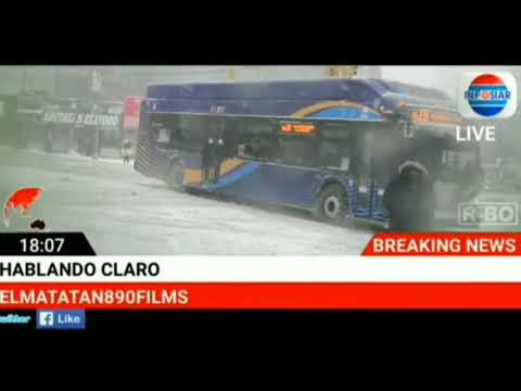 El ciclón invernal 2018,hunts point bronx ny un reporte de Pedro Martínez
