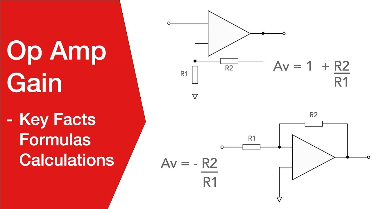 Op Amp Applications Circuits Features Of Inverting And Non