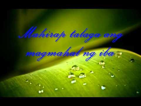 Apo Hiking Society - Mahirap Magmahal Ng Syota Ng Iba (with lyrics)